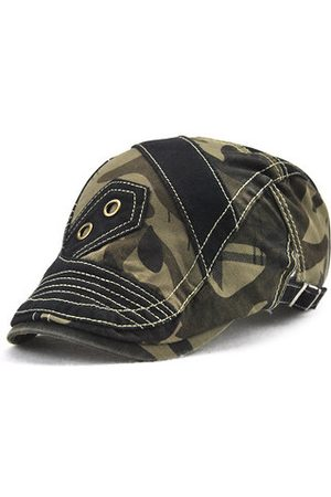 Newchic Men Pure Cotton Outdoor Visor Beret Cap
