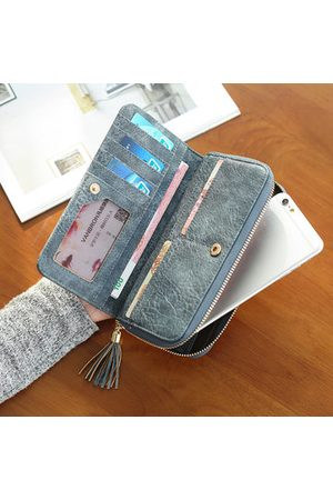 Newchic Women Clutches - Women PU Tribal Vintage Wallet Casual Wristlet Wallet Evening Clutches