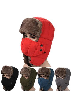 Newchic Men Caps - Mens Winter Outdoor Skiing Lei Feng Caps