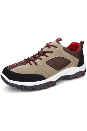 Newchic Men Outdoor Shoes - Men Anti-collision Patchwork Hiking Sneakers