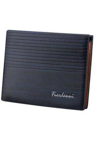 Newchic 6 Card Slots PU Leather Wallet Horizontal Card Holder Coin Bag For Men