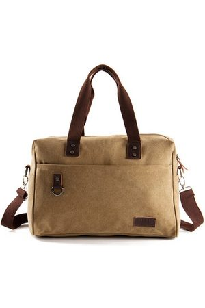 Newchic Big Capacity Travel Handbag Canvas Business Crossbody Bag For Men