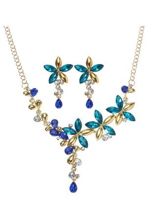 Newchic Colorful Flower Jewelry Set