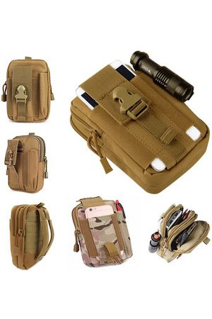 Newchic Men Sports Bags - Men Tactical Bags Outdoor Sport Bag Cash Wallet Phone Bag