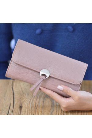 Newchic Women Casual Stylish PU Leather Long Wallet Purse