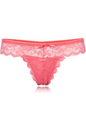 Newchic Sexy Transparent Lace Seamless V-Strings