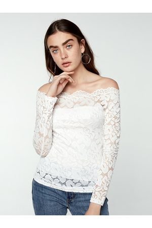 Newchic Women Long Sleeve - Fashion Long Sleeved Slim Lace Top