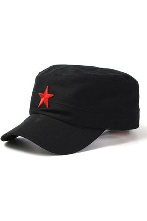 Newchic Men Hats - Adjustable Cotton Five-Pointed Star Military Hat