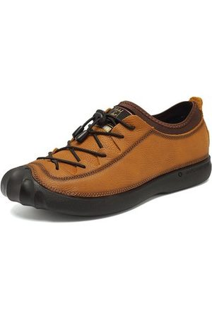 Newchic Men Casual Shoes - Men Genuiner Leather Outdoor Casual Shoes