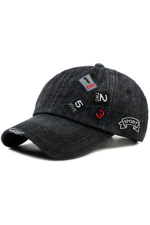 Newchic Casual Sunshade Adjustable Denim Baseball Cap