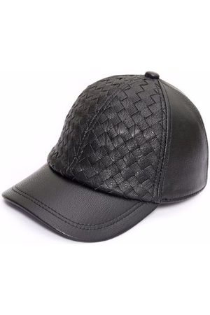 Newchic Mens Sheepskin Leather Baseball Cap Adjustable