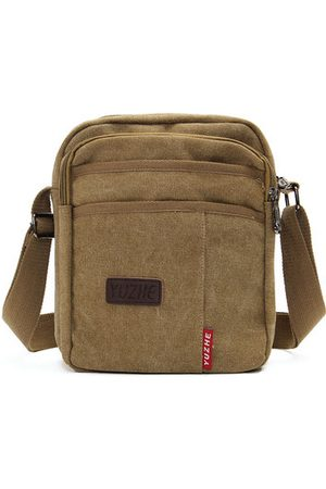 Newchic Men Sports Bags - Men Canvas Leisure Shoulder Bags Sport Outdoor Crossbody Bag