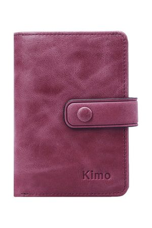 Newchic 12 Card Slots Genuine Leather Small Wallet