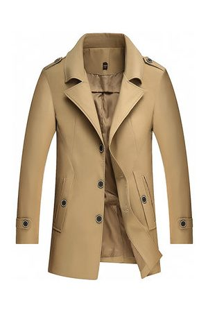 Newchic Fall Brief Business Casual Trench Coat