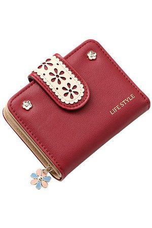 Newchic Women Wallets - Hollow Out PU Wallet