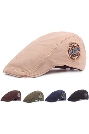 Newchic Mens Adjustable Pure Cotton Beret Caps
