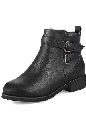 Newchic Warm Buckle Stylish Boots