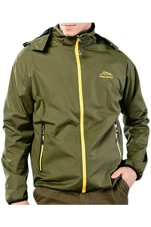 Newchic Men Outdoor Jackets - Plus Size Fall Outdoor Jackets