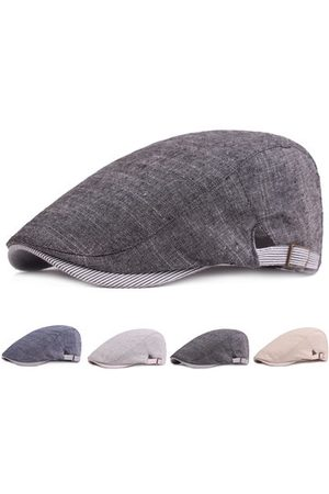 Newchic Men's Cotton Beret Cap Casual Newsboy Hats