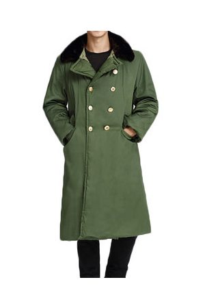 Newchic Thick Warm Long Cotton Coat