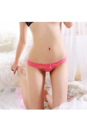 Newchic Women Sexy Mesh Hollow Out Panties Comfort Soft Temptation Thongs V-Strings
