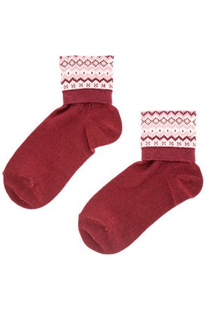 Newchic Patchwork Ethnic Style Middle Tube Socks