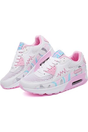 Newchic Breathable Lace Up Running Shoes