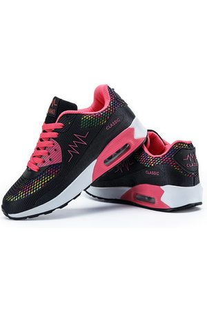 Newchic Women Shoes - Breathable Lace Up Running Shoes