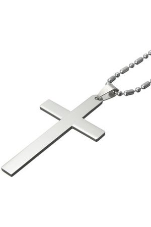 Newchic Simple Stainless Steel Cross Necklaces
