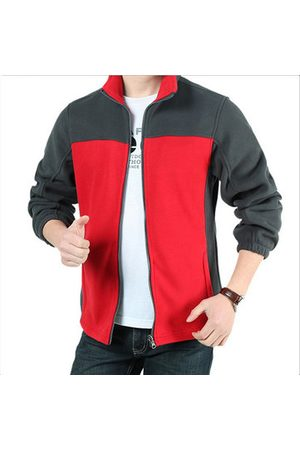 Newchic Outdoor Patchwork Inside Thicken Fleece Jackets
