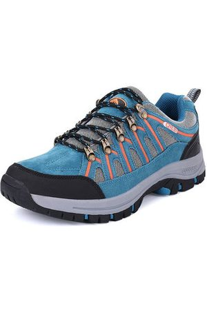 Newchic Men's Outdoor Casual Lace Up Hiking Shoes