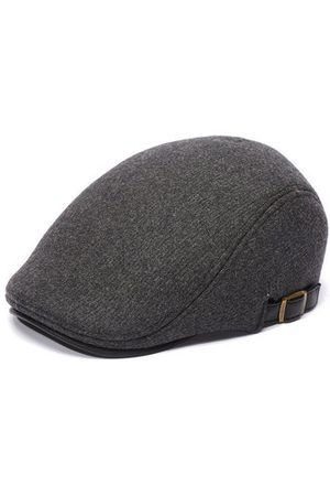 Newchic Men Hats - Mens Winter Thicken Warm Woolen Beret Hat