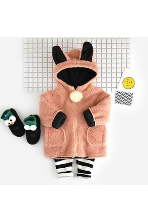 Newchic Baby Coats - Cute Cat Ear Hooded Pocket Outerwear