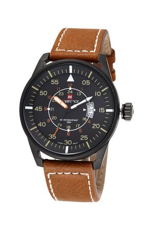 Newchic NAVIFORCE Leather Military Watch