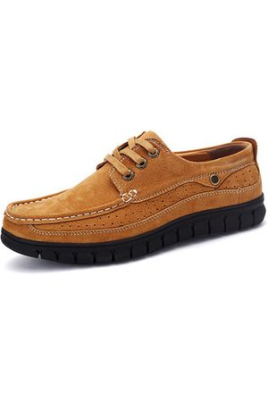 Newchic Men Suede Thick Soles Casual Shoes