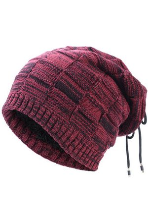 Newchic Men Caps - Beanie Scarf Cap Double Use