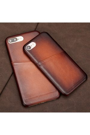 Newchic Vintage Genuine Leather Phone Case For Iphone