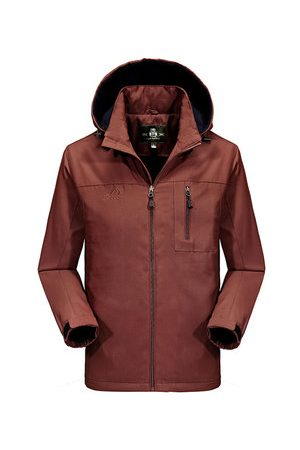 Newchic Winter Outdoor Windproof Thicken Slim Fit Jacket