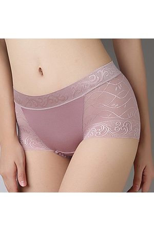 Newchic Seamless Boyshorts Print Breathable Briefs