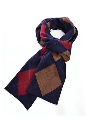 Newchic Men Scarves - Mens Winter Cashmere Knitted Warm Thicken Scarves
