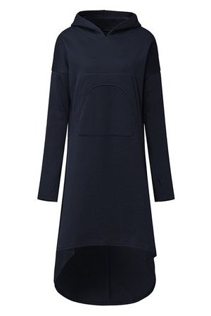 Newchic Women Casual Dresses - Casual Irregular Women Hoodie Dresses