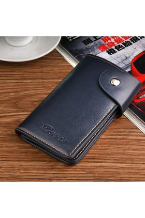 Newchic Men Wallets - PU Leather Large Capacity Wallet Purse