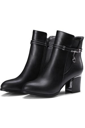 Newchic Concise Zipper Soft Boots