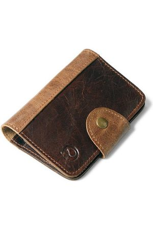 Newchic Multi-function Genuine Leather Card Holder Wallet