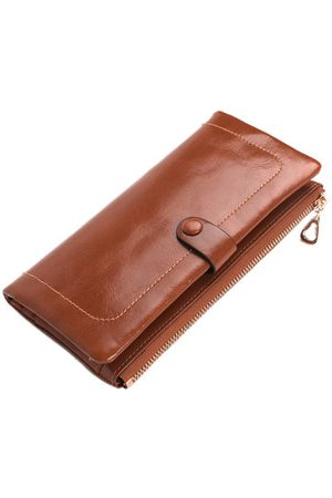 Newchic Women Clutches - Genuine Leather Women Wallet Multi-Cards Holder Clutch