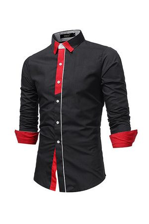 Newchic Slim Fit Business Casual Shirt