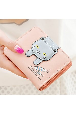 Newchic Women Wallets - Cute Cat Cashes Fish Wallet