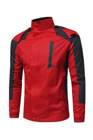 Newchic Men Outdoor Jackets - Hooded Outdoor Climbing Jacket