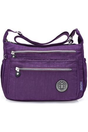 Newchic Jinqiaoer Nylon Waterproof Lightweight Crossbody Bag Shoulder Bag Portable Travel Bag For Women