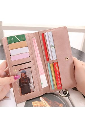 Newchic Women Wallets - Candy Color Multi-slots Long Wallet